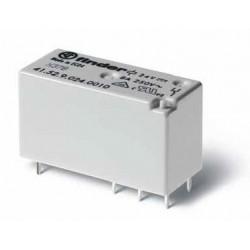 Rele' miniatura 2scambi basso profilo 8A 250Vac
